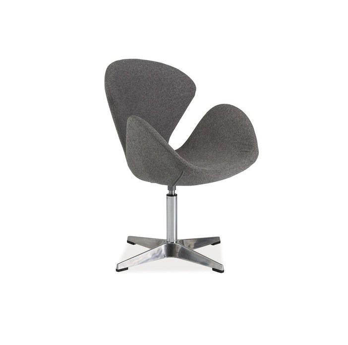Fotelja modernog dizajna - Devon(siva)