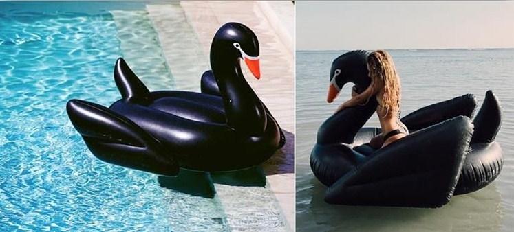 Madrac na napuhavanje - Crni labud
