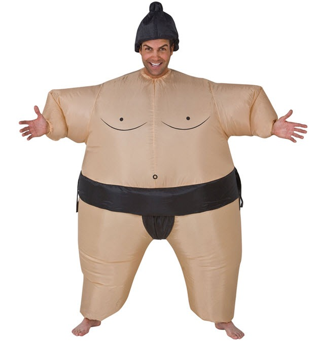 kostim sumo hrvač