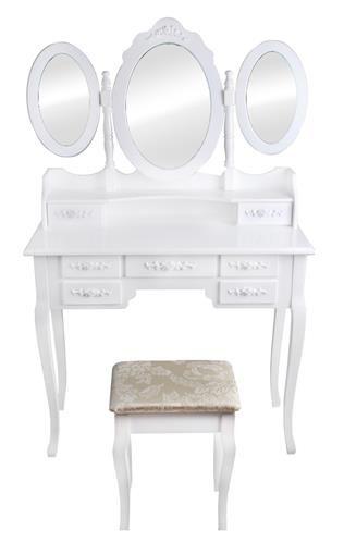 Set toaletni stolić i stolčić - Tiffany