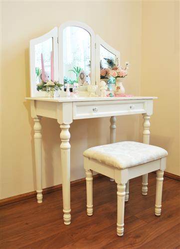 Set toaletni stolić i stolčić - Mardot