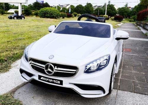 Licencirani Mercedes S63AMG - auto na akumulator